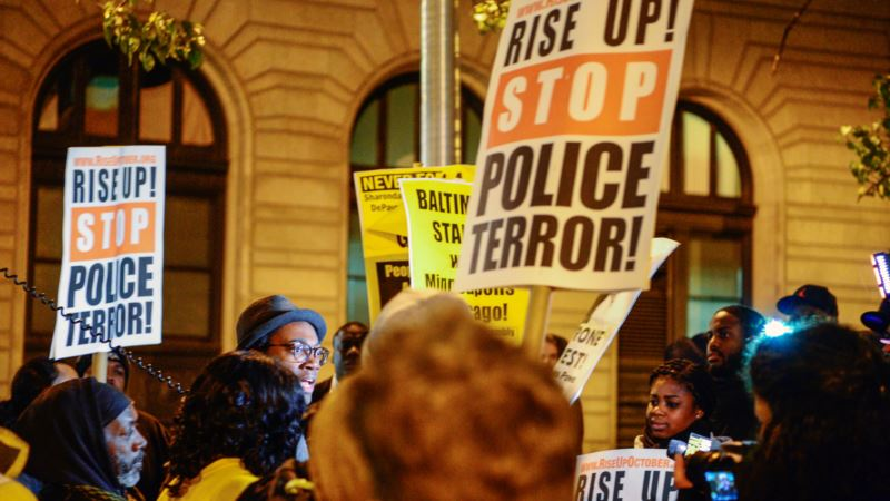 ACLU: Police Used Facebook, Twitter to Track Protesters