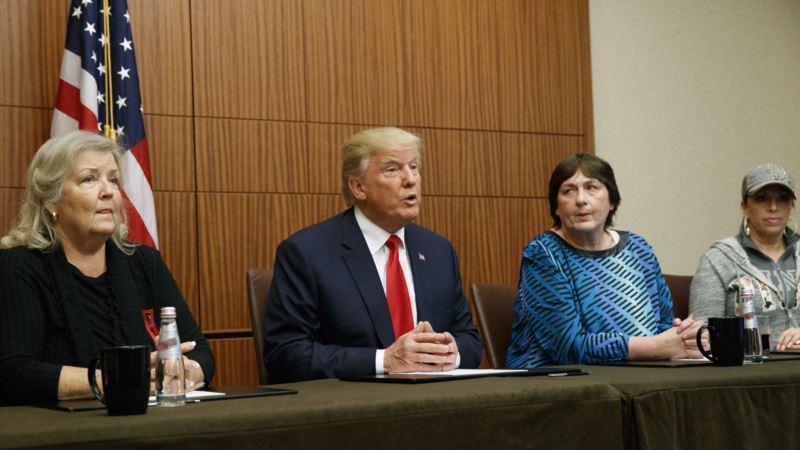 Trump Appears with Clinton Accusers Ahead of Debate