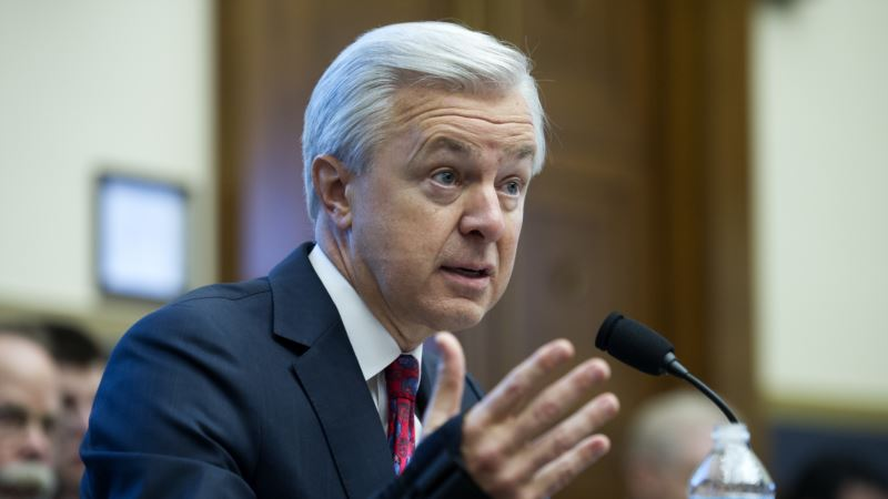 Wells Fargo Bank CEO Resigns Amid Sales Scandal
