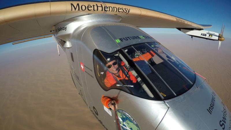 Pilots Say Solar Impulse Tech Can Solve Global Warming