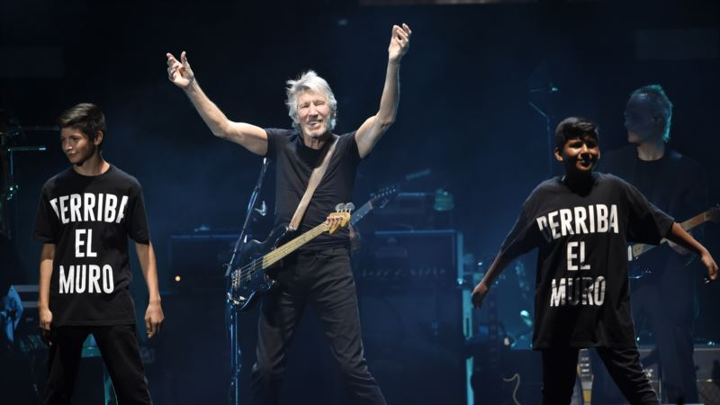 Roger Waters Puts his Politics Center Stage at Desert Trip