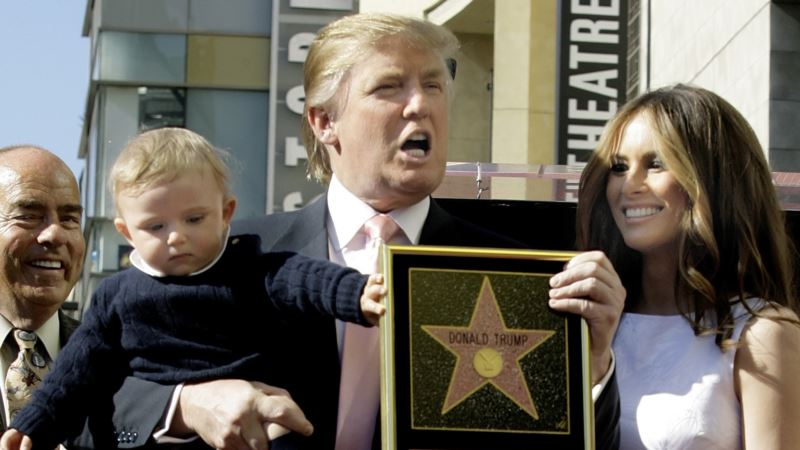 Trump's Hollywood Star Smashed with Sledge Hammer