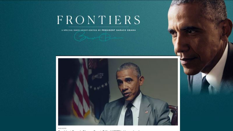 'Wired' Magazine Edited by Obama Goes Online