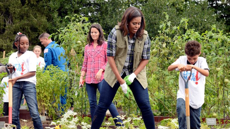 Michelle Obama's Legacy Rooted in White House Garden