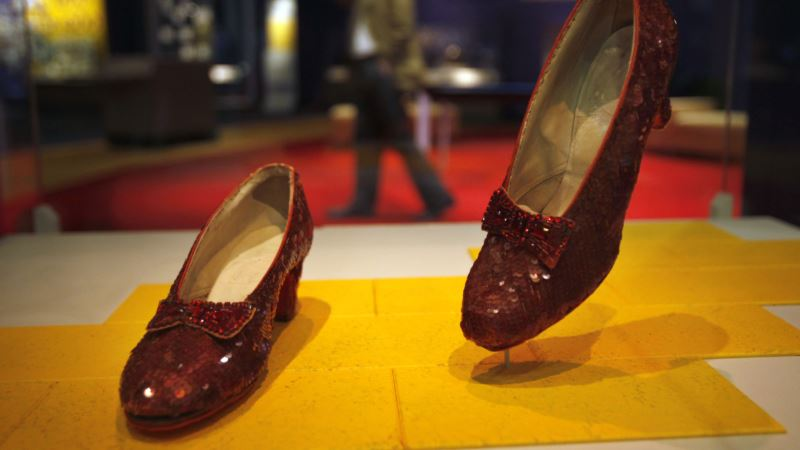 Smithsonian Launches Effort to Save 'Wizard of Oz' Ruby Slippers