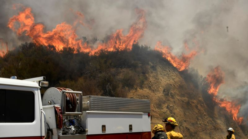 Study Shows Climate Change Makes Forest Fires Worse