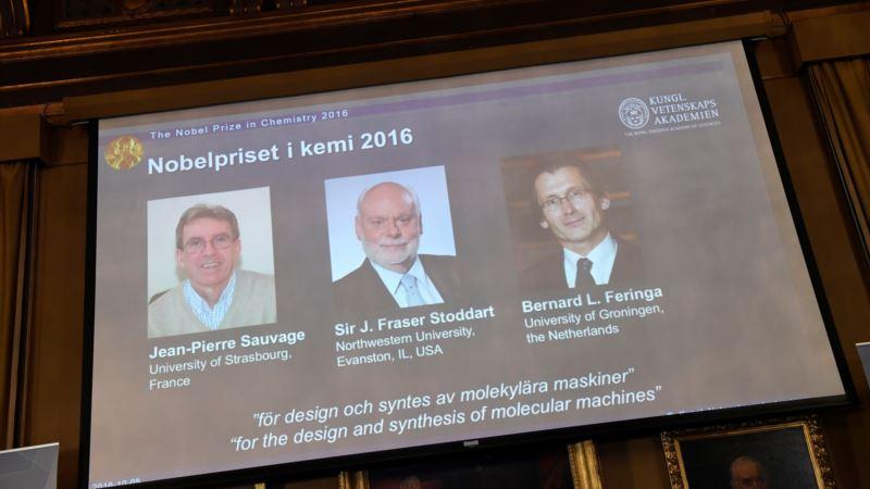 Nobel Chemistry Award Goes to 'World's Smallest Machines' Developers