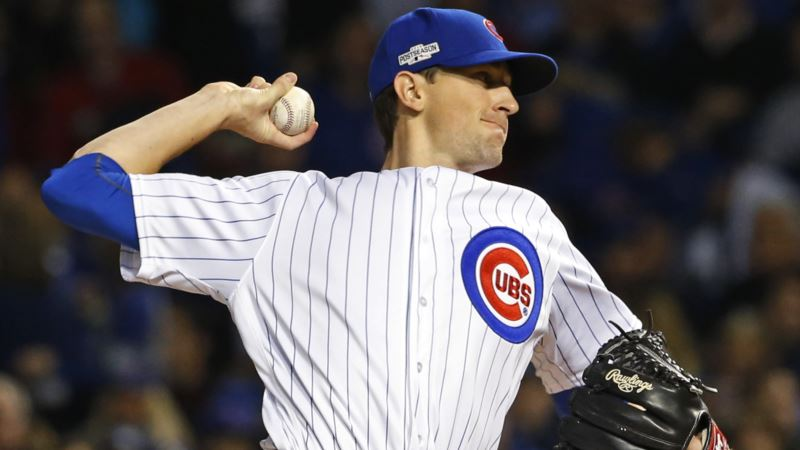 US Baseball: Chicago Cubs End World Series Drought