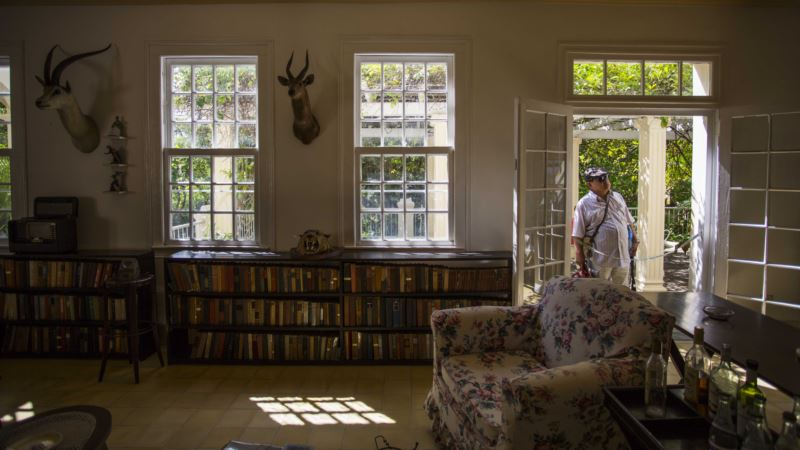 US, Cuba Stepping Up Efforts to Save Hemingway Artifacts