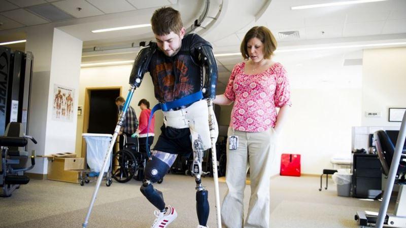 US Marine Veteran Receives Double Arm Transplant
