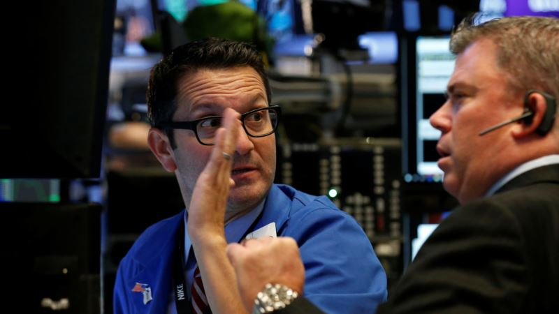 US Stocks Surge Before Pulling Back