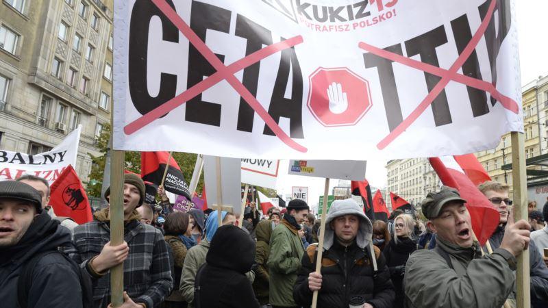 Canada, EU Hopeful for Trade Deal Blocked by Belgium