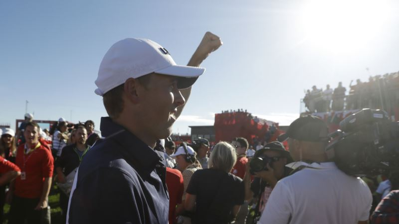 Task Completed as Americans Win Back Golf's Ryder Cup