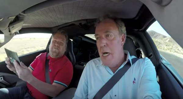 Clarkson, May and Hammond are back and in the hot seat with James Corden