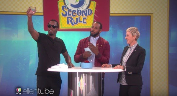 P Diddy drunk on the Ellen Show is all kinds of hilarious
