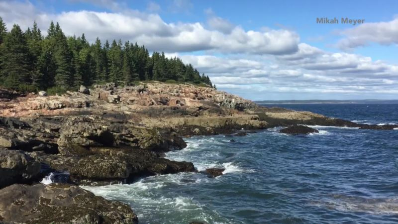 Acadia National Park Encompasses Mountains, Forests, Ocean