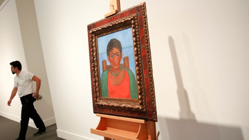 Frida Kahlo Painting, Unseen for 60 Years, Surfaces for Sale
