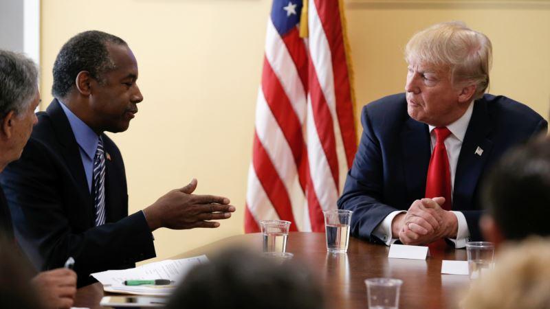 Trump Eyes Former Rival Ben Carson as HUD Director