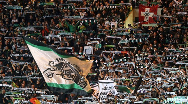 Borussia Monchengladbach fans love 'a German team' scarves so much the club have ordered thousands more