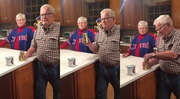 This Chicago Cubs fan saved a beer for 32 years, and opened it after the team's historic World Series win