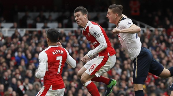 Wimmer earns praise for quality of his header in north London derby