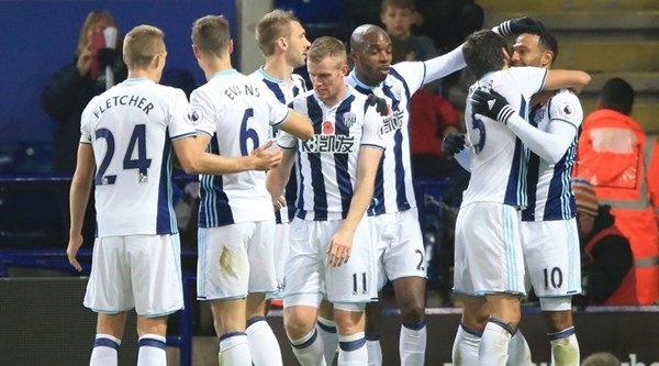 West Brom end Leicester's unbeaten home run with a 2-1 victory