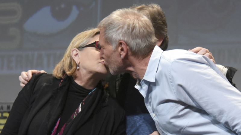 Carrie Fisher Reveals 'Star Wars' Affair with Harrison Ford