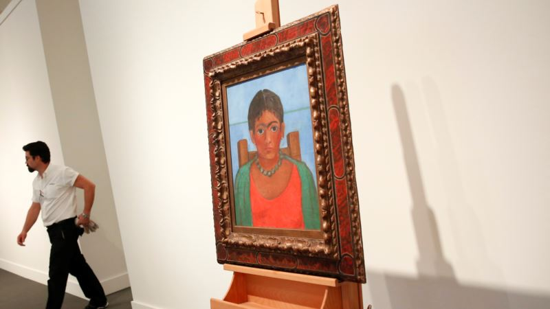 Kahlo Painting, Unseen for 60 Years, Sells for $1.81 Million