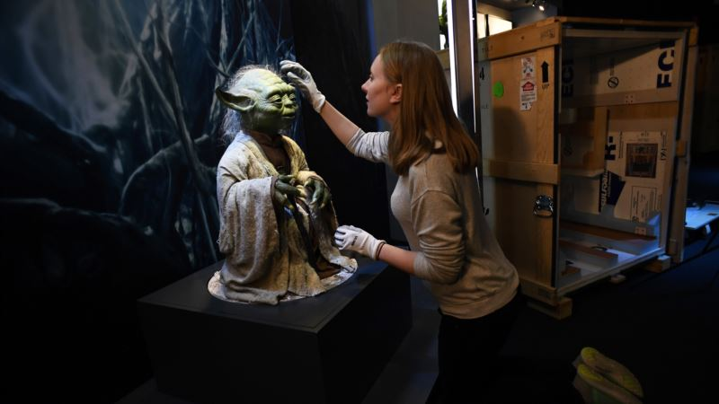 Touring 'Star Wars' Exhibition Lands in London