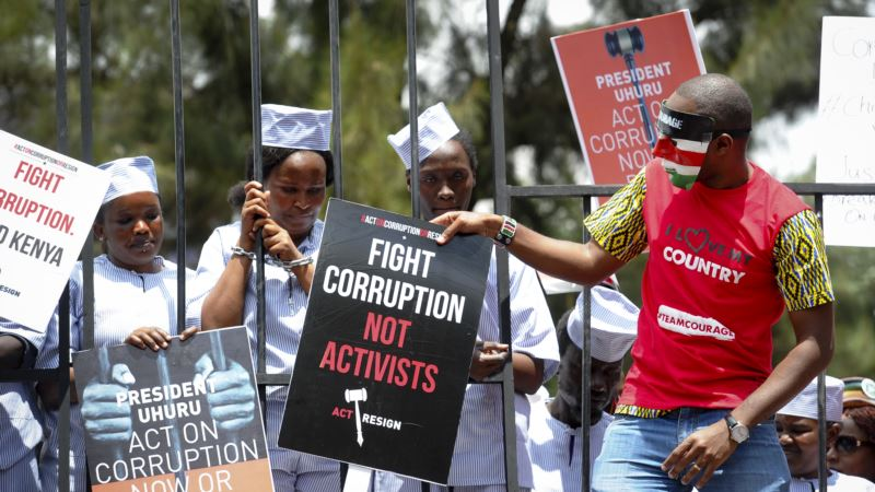 Nairobi Anti-Corruption Protest Turns Violent