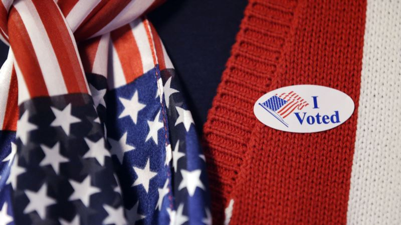 'I Voted' Stickers Mark American Election Day