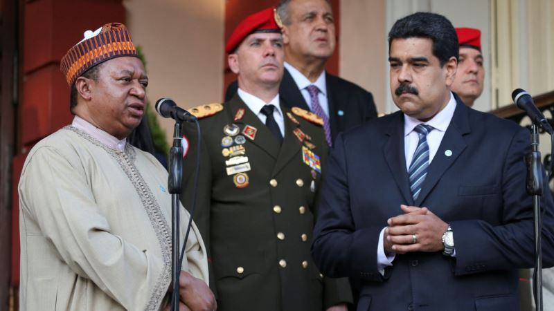 Maduro Says OPEC Set to Agree on Reducing Oil Output