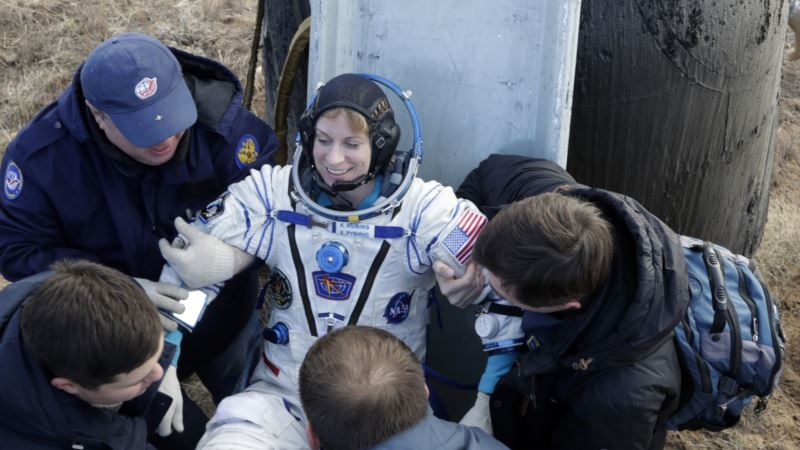 3 Astronauts Return to Earth After Four-Month Mission on ISS