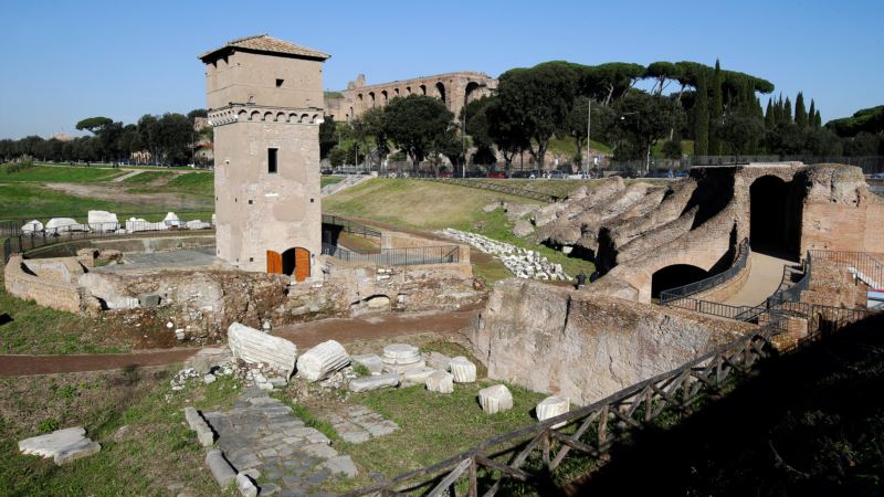 Rome Shows Off Restored Circus Maximus