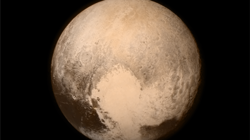Scientists Find Evidence of Water on Pluto