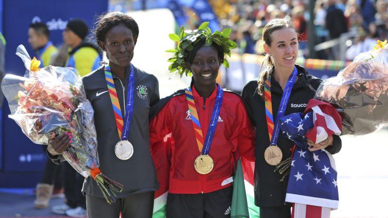 Eritrea's Ghebreslassie, Kenya's Keitany Win NYC Marathon