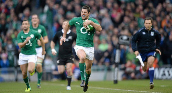 Rob Kearney starts at full-back in Ireland team to face All-Blacks