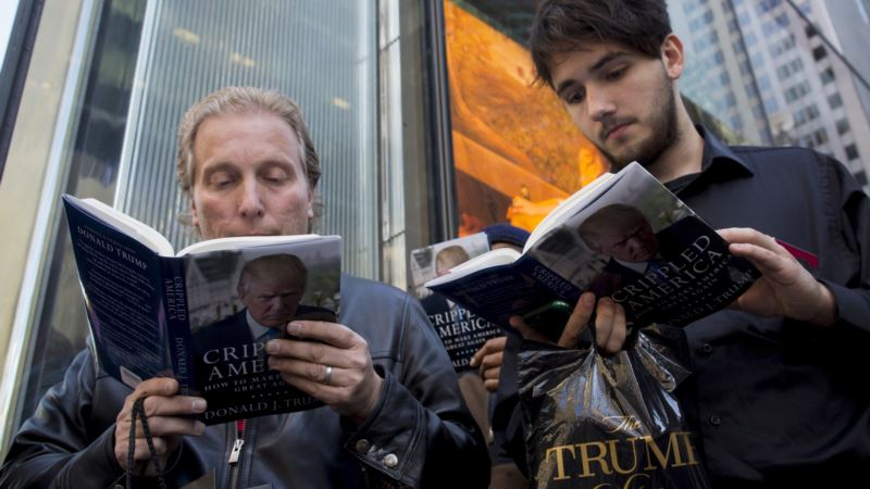 Book Publishers Hope for Common Ground with Trump