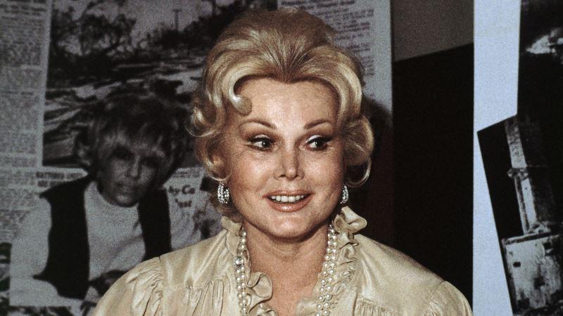 Actress Zsa Zsa Gabor Dies at 99