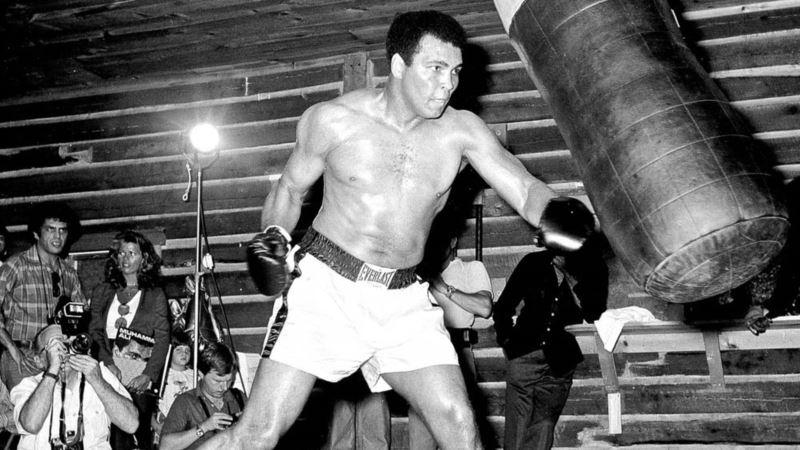 Muhammad Ali's Life in Parallel Art
