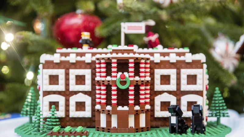 Child's Play: Lego Master Builders Show Work at White House