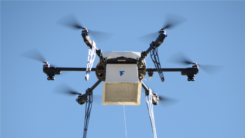 Drone Delivery Company Claims 77 Successful Drop-offs