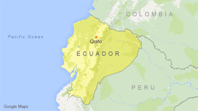 Ecuador Sends Troops to Chinese Copper Exploration Project After Protest