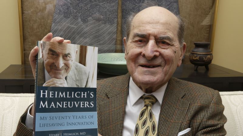 Developer of Heimlich Technique to Avert Choking Dead at 96