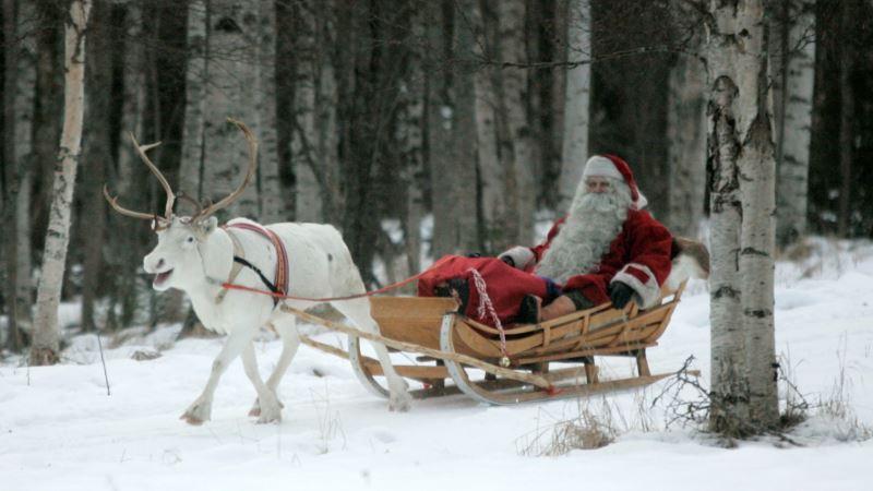 Santa in Trouble? Reindeer Shrink as Arctic Warms