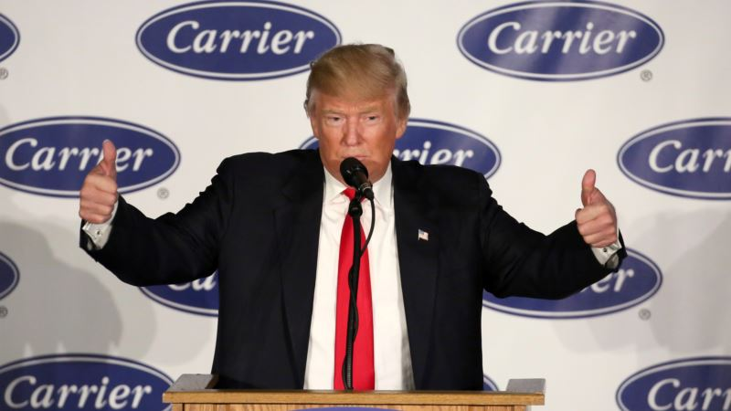 Trump Criticizes Carrier Union Leader