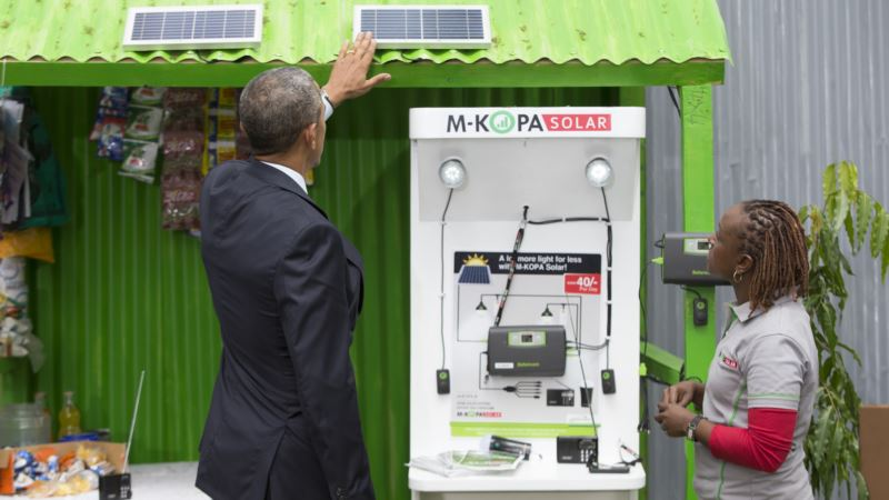 Off-Grid Solar Power Booms in Africa as US Backs Technology Roll Out
