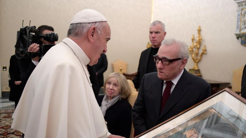 Martin Scorsese Meets Pope as Film on Jesuits Screens in Rome