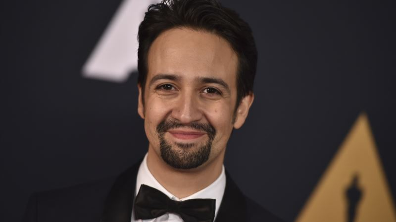 Billboard Success, Globes Nod for 'Hamilton' Star Lin-Manuel Miranda