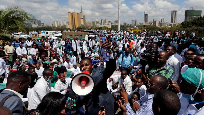 Kenya's Doctors, Nurses Strike for Better Pay